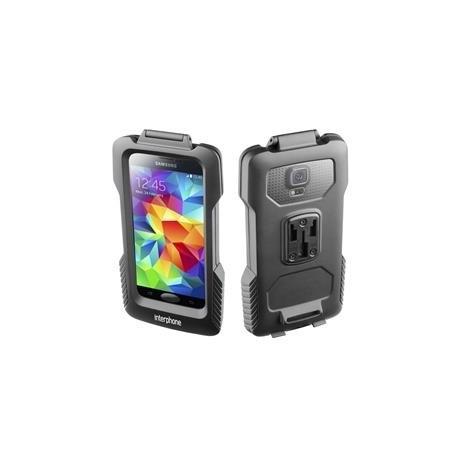 Voděodolné pouzdro Interphone pro Samsung Galaxy S5 / S5 Neo, úchyt na řídítka, černé
