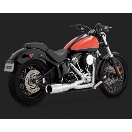 Chromovaný Vance & Hines výfuk HI-OUTPUT 2-INTO-1 SHORT pro Harley Davidson