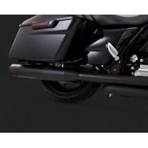 Černý Vance & Hines výfuk OVERSIZED 450 TITAN SLIP-ONS BLACK pro Harley Davidson