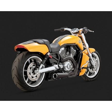 Černý Vance & Hines výfuk COMPETITION SERIES 2-INTO-1 BLACK pro Harley Davidson