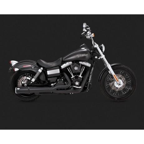 Černý Vance & Hines výfuk PRO PIPE BLACK pro Harley Davidson