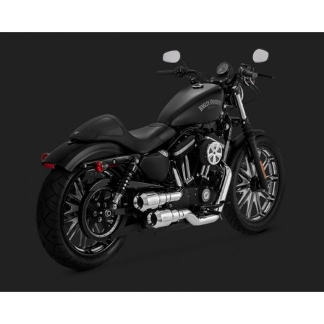 Chromovaný Vance & Hines výfuk pro Harley-Davidson