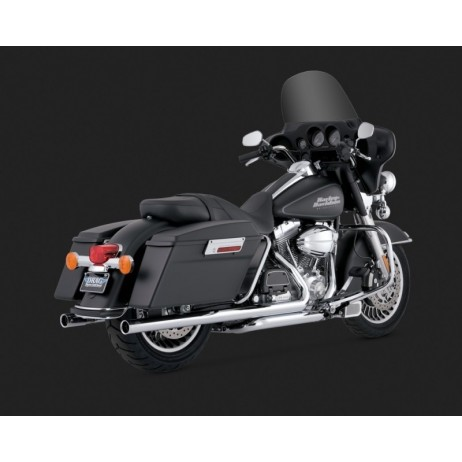 Chromovaný Vance & Hines výfuk BIG SHOT DUALS pro Harley-Davidson