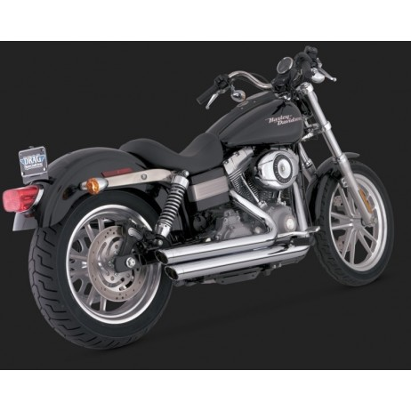 Chromový Vance & Hines výfuk BIG SHOTS STAGGERED pro Harley-Davidson