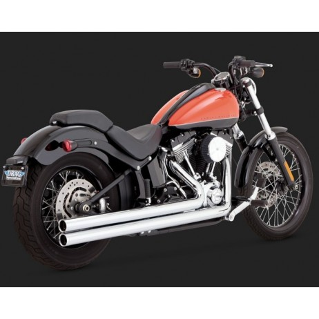 Chromovaný Vance & Hines výfuk BIG SHOTS LONG pro Harley-Davidson