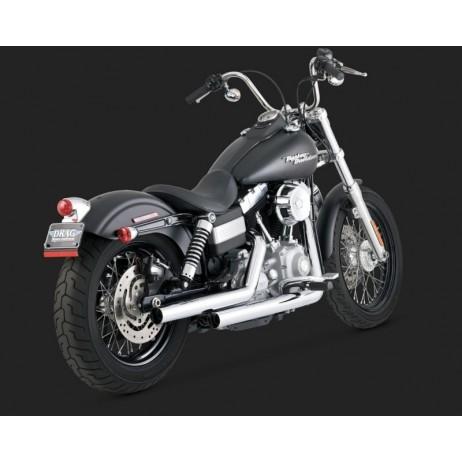 Chomovaný Vance & Hines výfuk STRAIGHTSHOTS pro Harley-Davidson