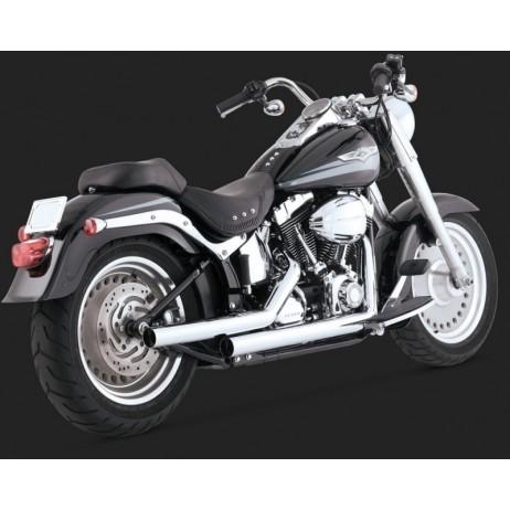 Chromovaný Vance & Hines výfuk STRAIGHTSHOTS pro Harley-Davidson