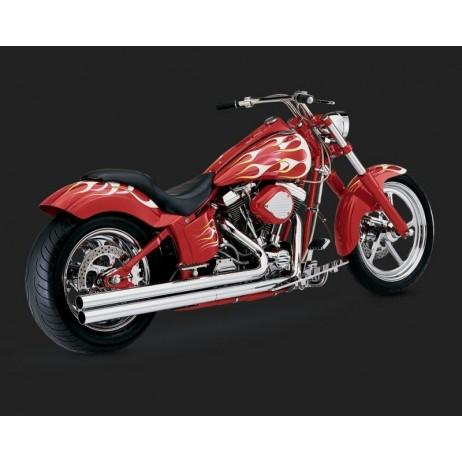 Chromovaný Vance & Hines výfuk LONGSHOTS ORIGINAL pro Harley-Davidson