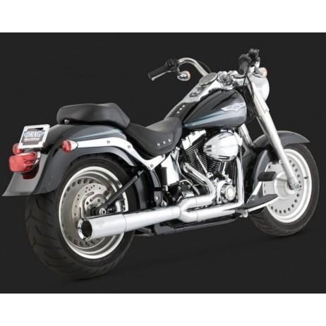Chromovaný Vance & Hines výfuk PRO PIPE CHROME pro Harley-Davidson