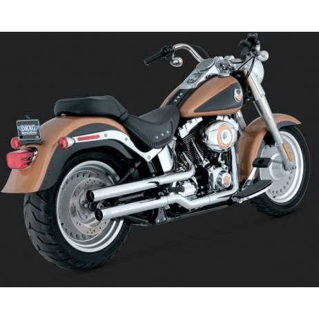 Chromovaný Vance & Hines výfuk STRAIGHTSHOTS HS SLIP-ONS pro Harley-Davidson
