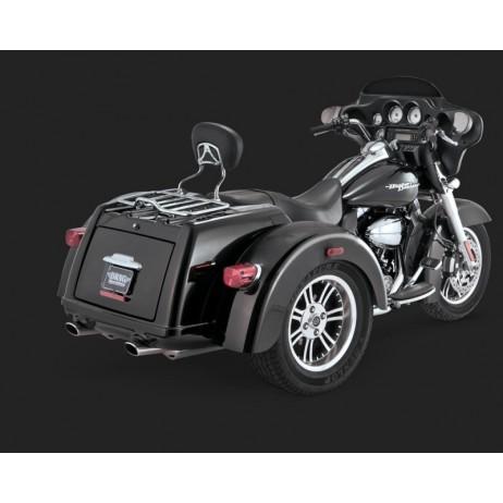 Chromovaný Vance & Hines výfuk TRIKE DELUXE SLIP-ONS pro Harley-Davidson