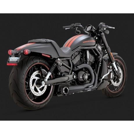 Černý Vance & Hines výfuk COMPETITION SERIES 2-INTO-1 pro Harley-Davidson