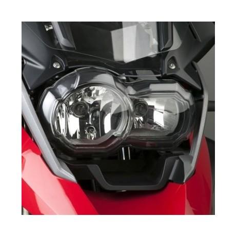Čirý plastový kryt před přední světlo BMW