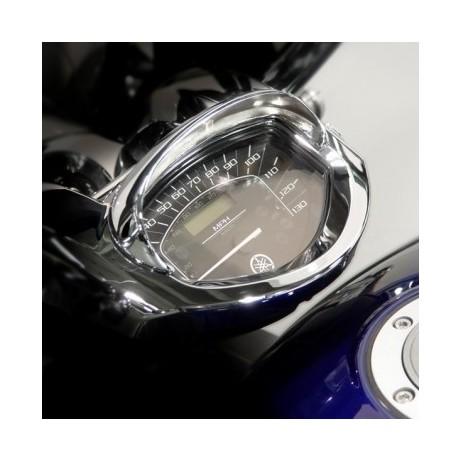 Chromovaný kšilt tachometru Yamaha