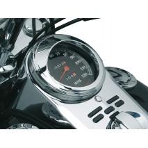 Chromovaný kryt tachometru pro Harley Davidson