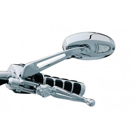 Zrcátka s integrovanými blinkry a rovinným zrcadlem