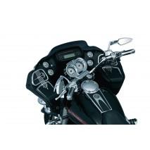 Chromovaný rámeček kolem budíku Harley Davidson