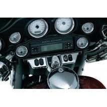 Chromovaný kryt spínací skřínky a ovladačů pro Electra Glide & Street Glide