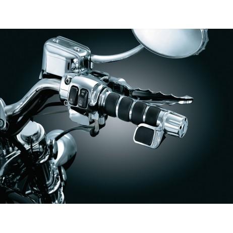 Thumbnail® černé krytky přepínačů směrových světel H-D