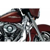 Chromovaný Deluxe kryt krku rámu Harley Davidson
