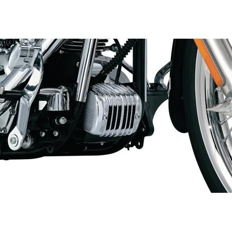 Chromovaný kryt regulátoru Harley Davidson Softail