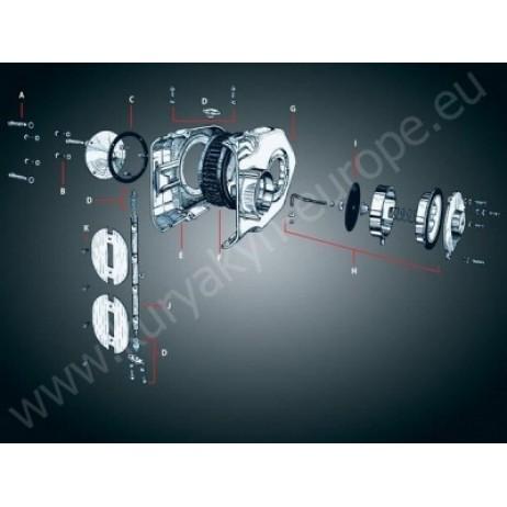 Náhradní vzduchový filtr K&N pro standardní Hypercharger