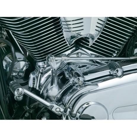 Chromovaný kryt spodní části válců Harley Davidson Softail