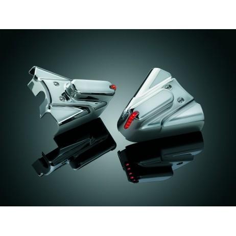 Chromované kryty osky zadního kola Harley Davidson