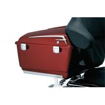 Ozdobné lemy víka horního kufru