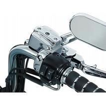 Chromované kryty brzdové nádobky a spojkové páčky Harley Davidson