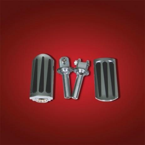 Stupačky řidiče TEARDROP Honda VT750