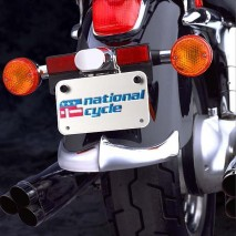 Chromovaný lem zadního blatníku Honda