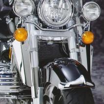 Chromovaný lem předního blatníku - Honda