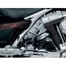 Chromovaný kryt rámu Harley Davidson