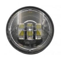 LED černá přídavná světla pro Harley Davidson