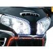 Skinni Mini LED světelné pásky - červené