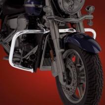 Big Bike Parts - Chromovaný padací rám
